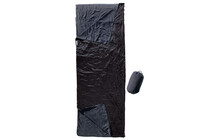 Cocoon Outdoor Blanket/Sleeping Bag fleece black/slate blue